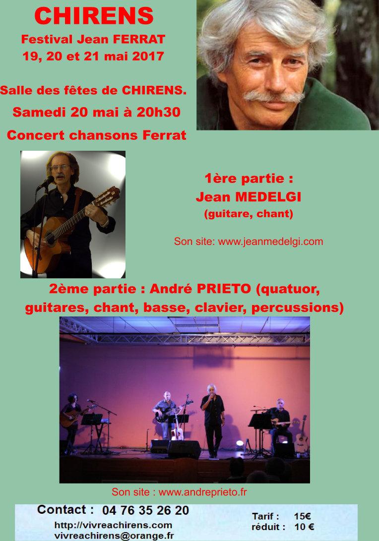 Affiche concert Chirens du 20 mai 2017